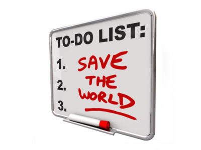 Change Management and Saving the World